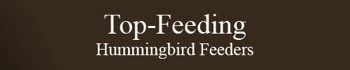Top-Feeding Hummingbird Feeders
